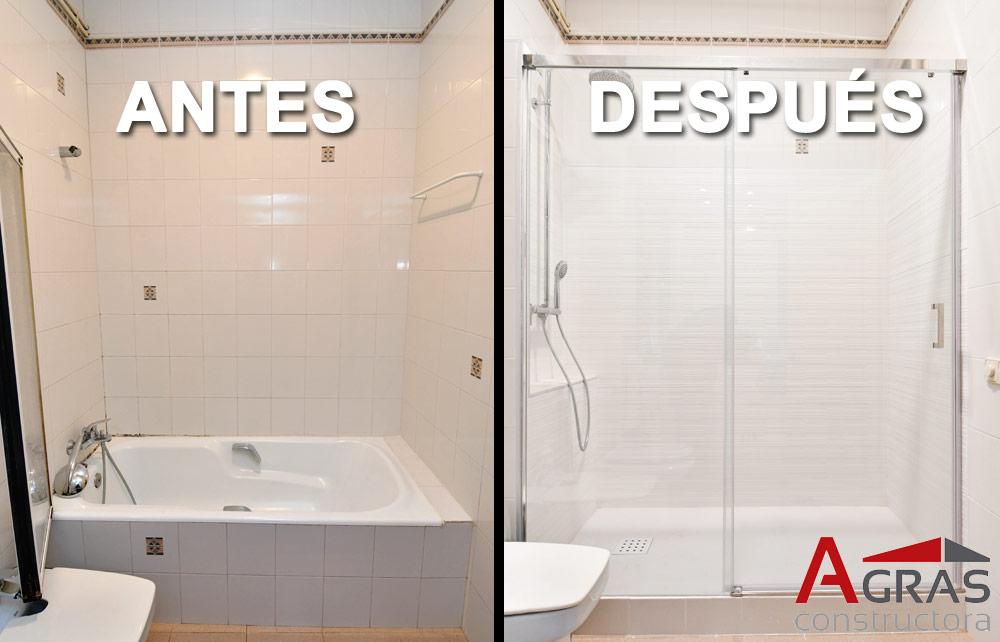 Platos de ducha construccions agras - Sustitucion de banera por plato de ducha ...